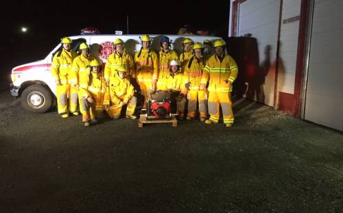 St. Lunaire-Griquet Fire Department Outfitted with new Gear, Thanks to IGA