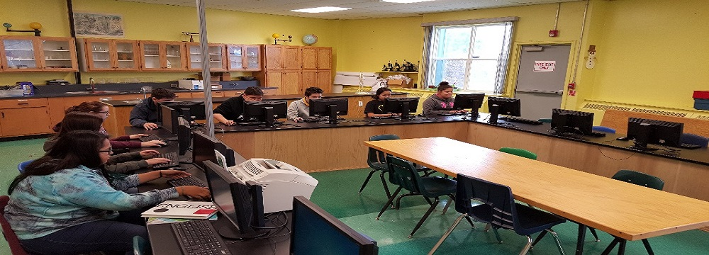 Lake Melville School's Computer Lab Benefits from IGA Funding