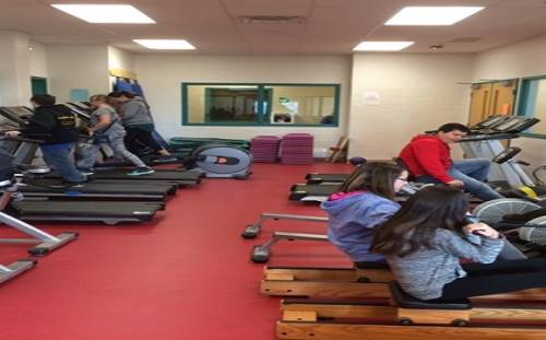 White Hills Academy Avails of Fitness Equipment from the IGA