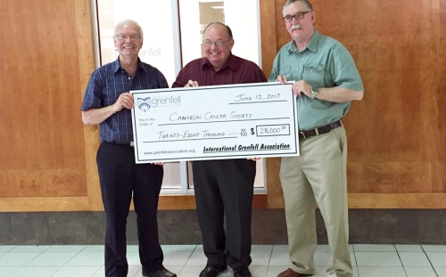 Canadian Cancer Society Receives $28,000 IGA Grant