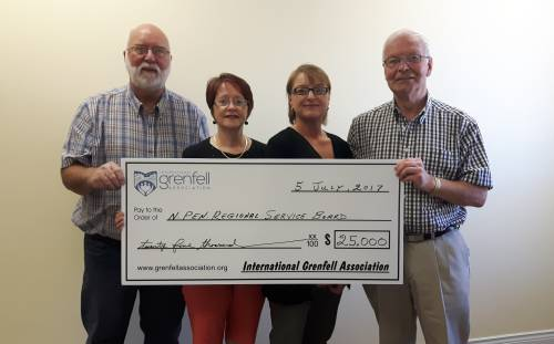 Northern Peninsula Regional Service Board Receives $25,000 IGA Grant
