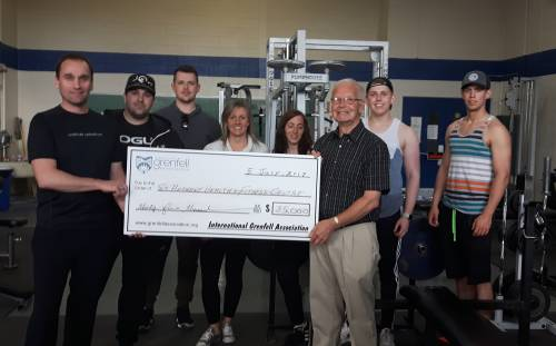 St. Anthony Health and Fitness Centre Receives $35,000 Grant