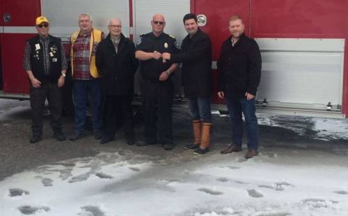 IGA Contributes $25,000 Towards new Rescue Unit at St. Anthony Fire Department