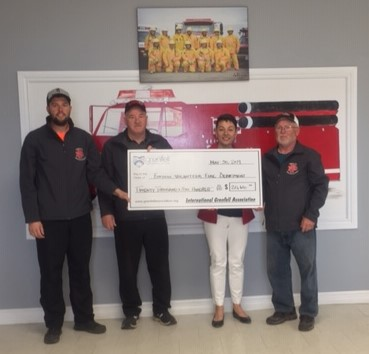 Grant for Forteau Volunteer Fire Brigade