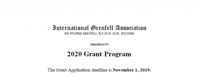 IGA 2020 Grant Program Priorities