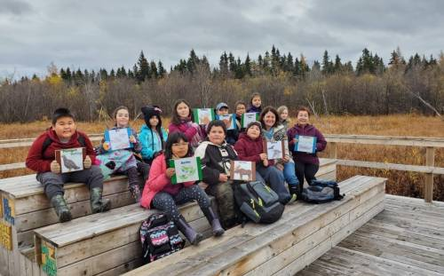 Lake Melville School Participates in Ducks Unlimited Canada Field Trip