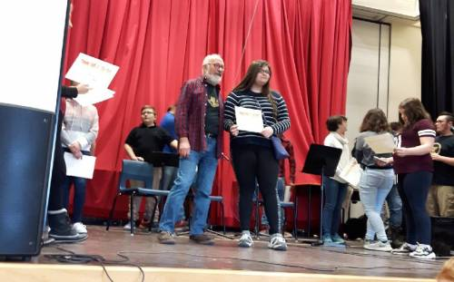 Success for Young Folks at the Hall