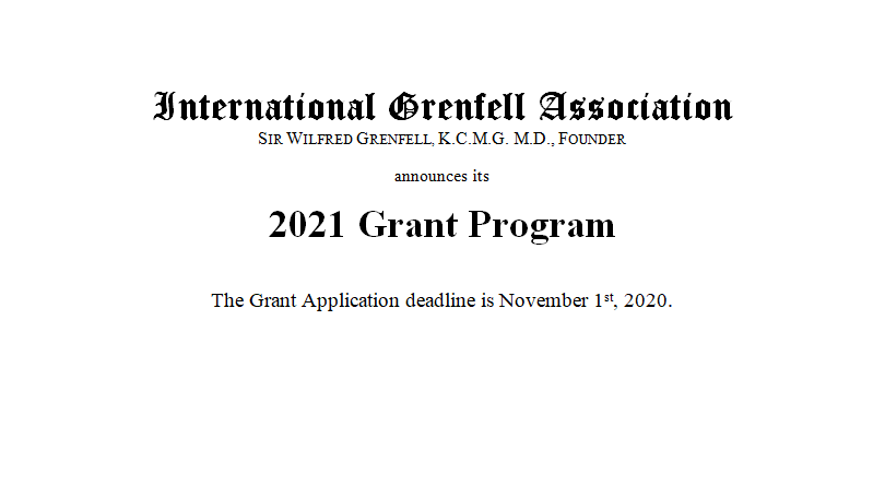 IGA Grant Application Process for 2021 Now Open!