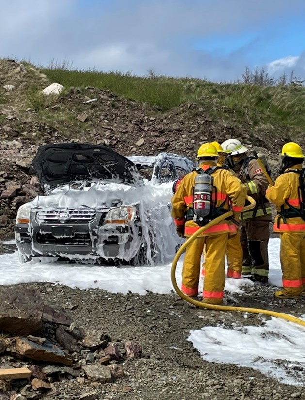 IGA Funds Firefighting Initiative for the Labrador Straits Region!